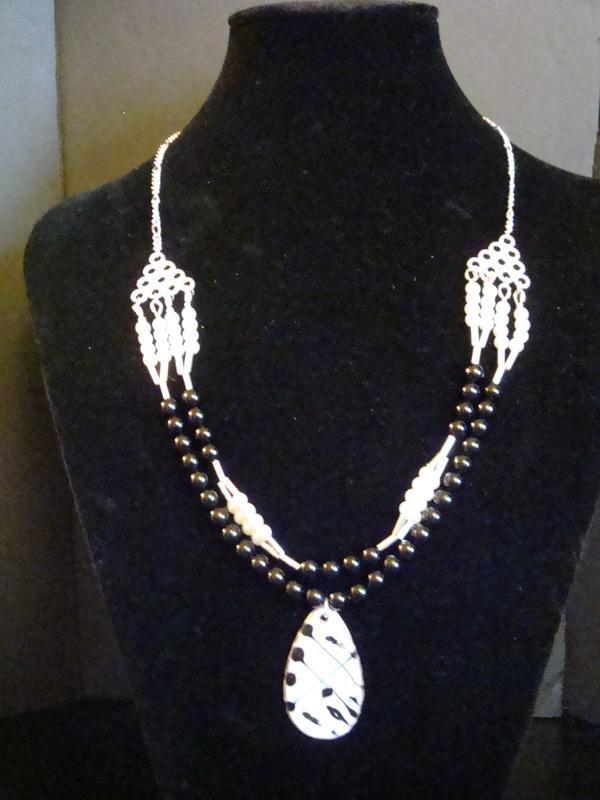 Black Drizzle (Item #1091)  $25.00
