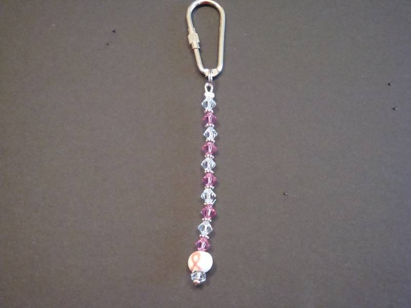 Breast Cancer Awareness Key Chain (Item #4006)  $10.00