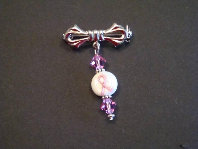 Breast Cancer Awarenss Pin (Item #4004)  $7.50
