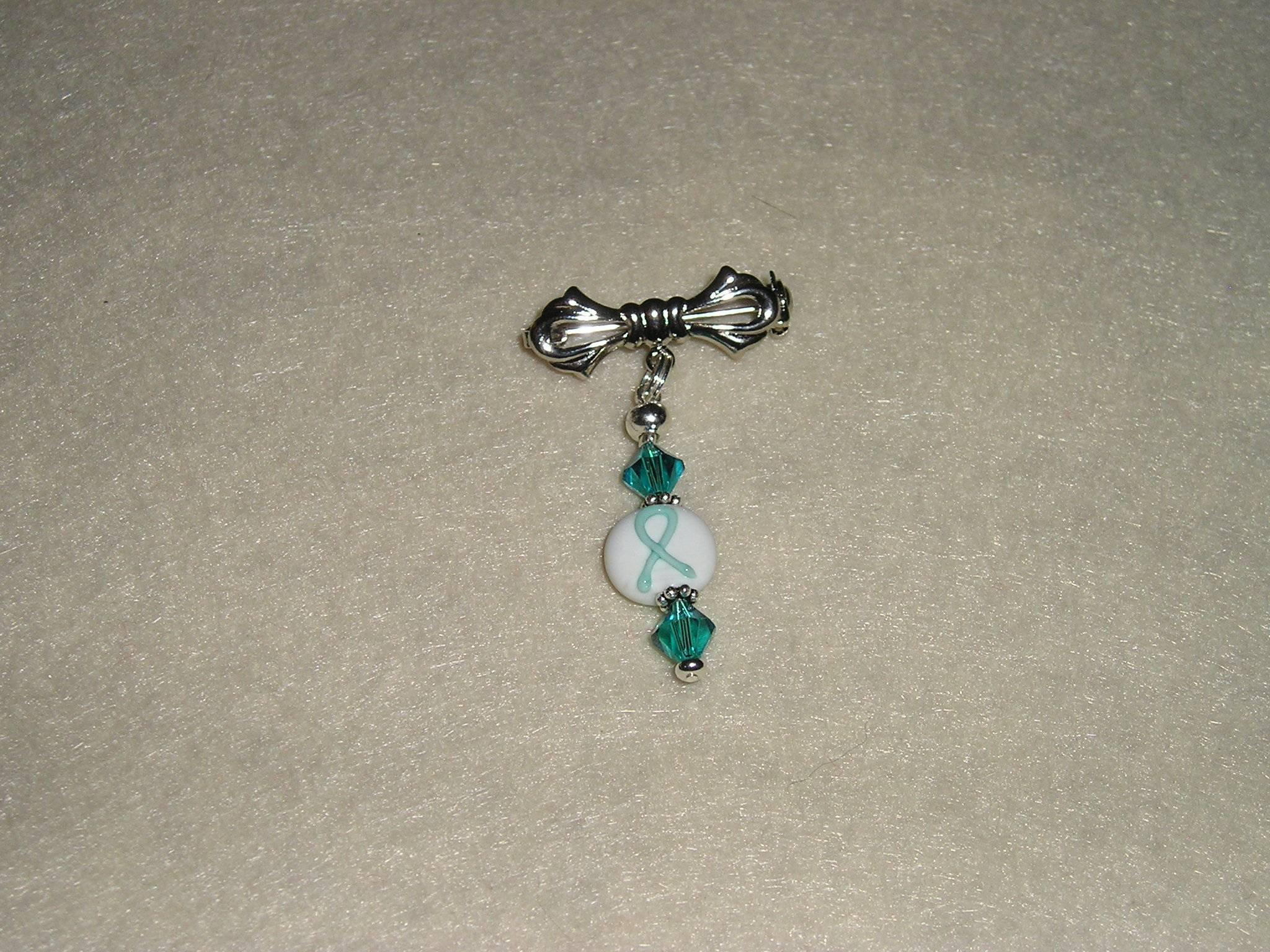 Cervical Cancer Awareness Pin (Item #4001)  $7.50