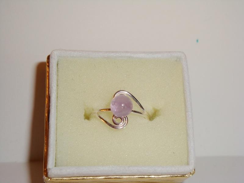 Lavender Double Swirl (Item #5037)  $8.50