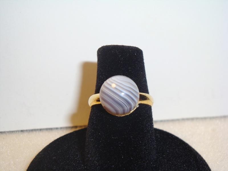Bostwana Agate (Gold) (Item #5053) $5.00