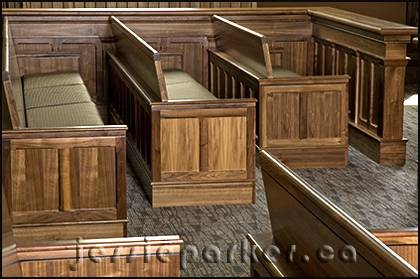 Pembroke Courthouse Benches
