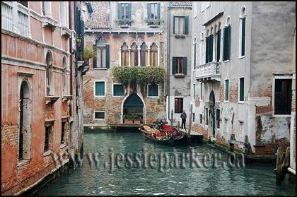 Canal in Venice.Italy