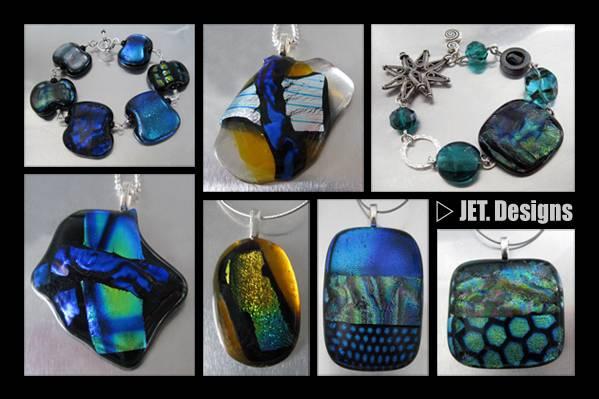 Fused Glass Metallics