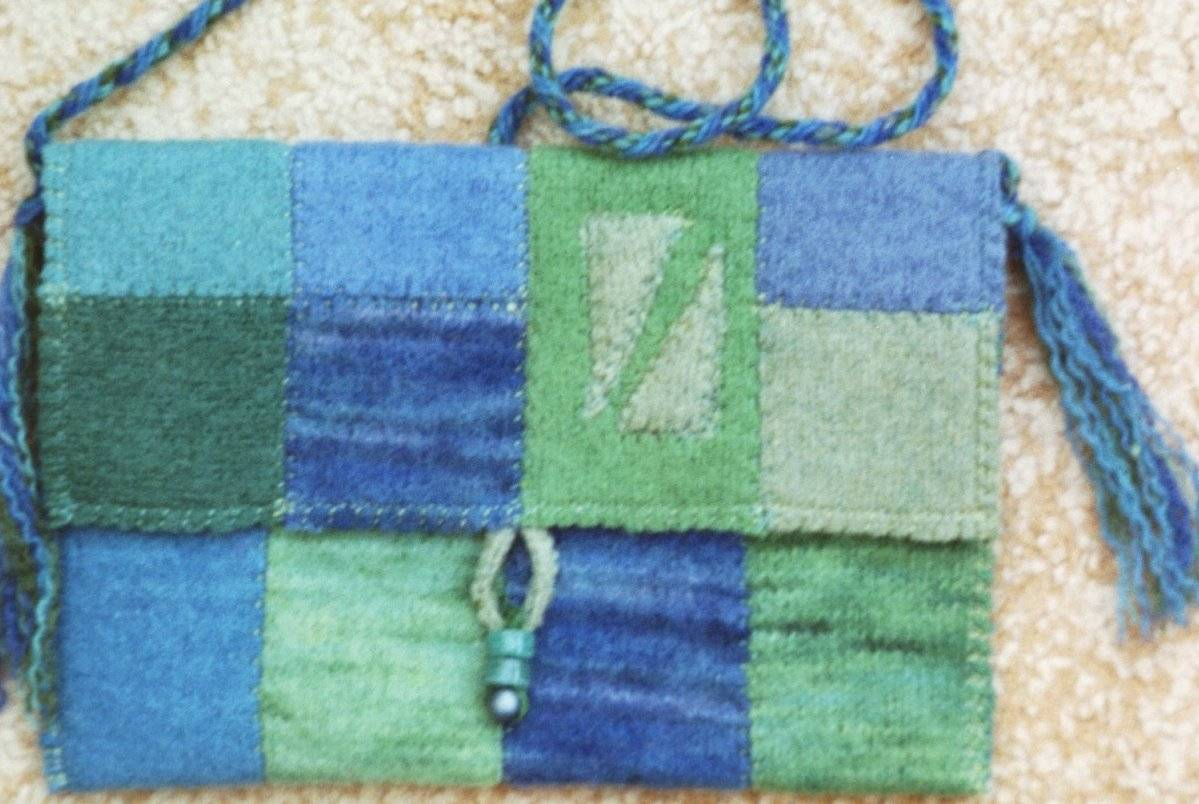 Blue/green bag