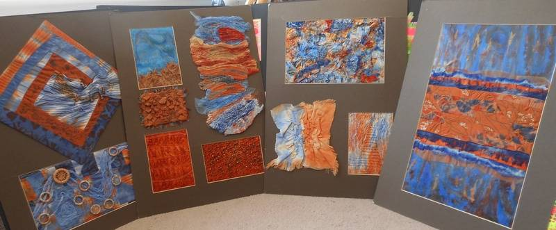 Rocks and Crystals sample boards