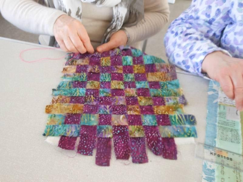 Angela's woven piece
