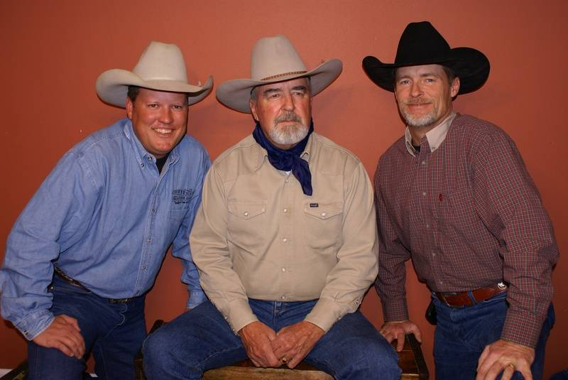 Chancey, Dad and John lll. The three Seay's