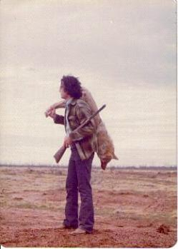 Hunting Coyote's back in my trapping day's.