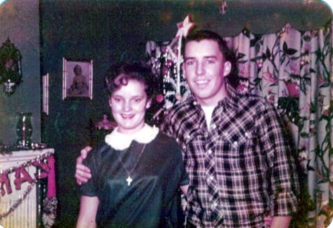 My Dad at age 16 with his High School Sweetheart, Joyce Ledford