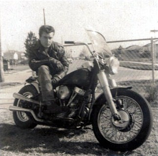 My first Harley 1959.