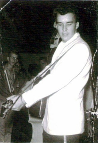Age 18, Louisiana Hayride in 1958