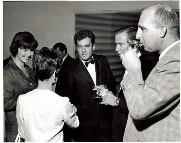 "Dallas Texas at movie premiere of ""What Am I Bid"". A movie I was in with Leroy Vandyke, Faron Young, Tex Ritter and Al Hurt. 1967"