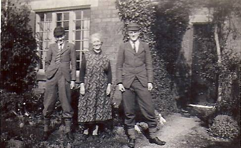 Scotter Whit 1940 Lewis Mrs Bailey and Bill 2