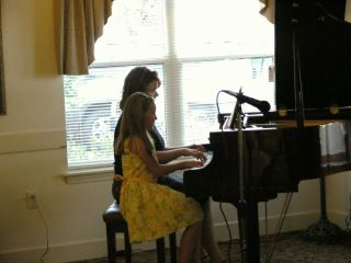 We love to play duets