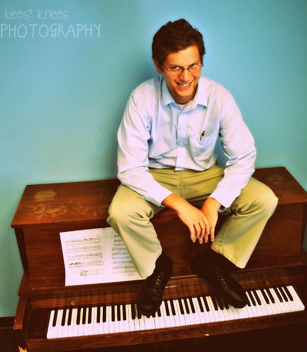 John Preston on the Piano