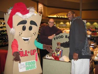 Food Bank Drive with Mayor Mandel