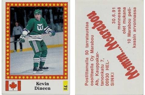 1991-92 Finnish Semic World Championship Stickers #71