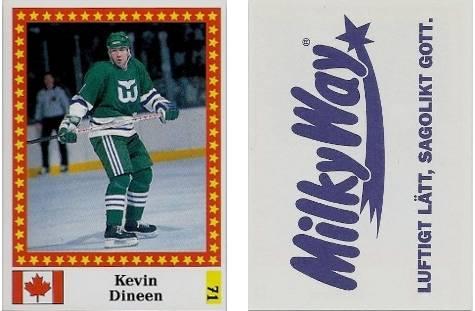 1991-92 Swedish Semic World Championship Stickers #71