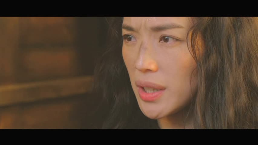 Shu Qi looks worried
