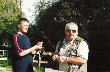 Michael O'Doherty & Junior Angler
