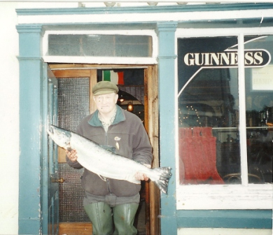 Tony Molloy - 24 pound Salmon
