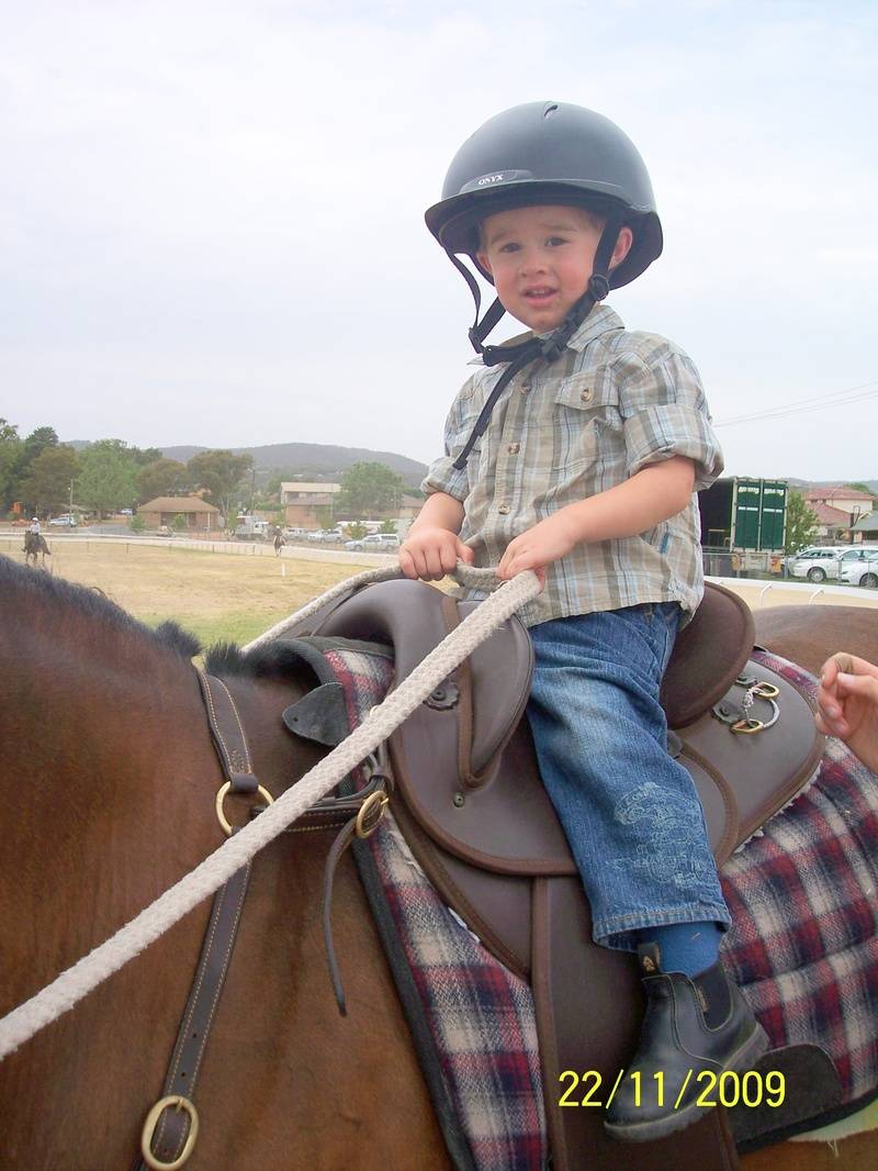 Harrison Riding Hope