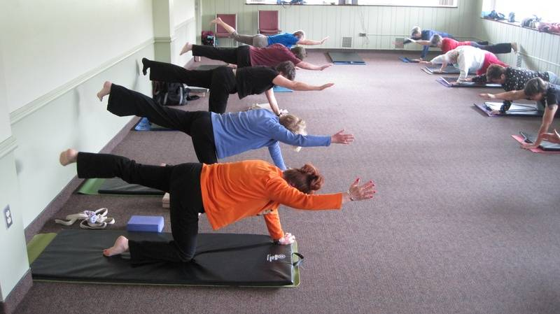 50+ class at Rockway