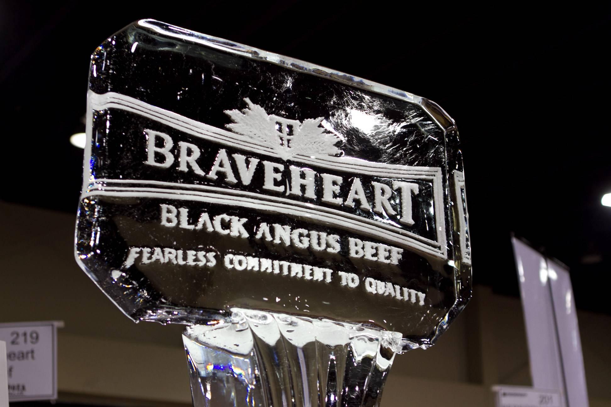 BraveHeart Black Angus Plaque