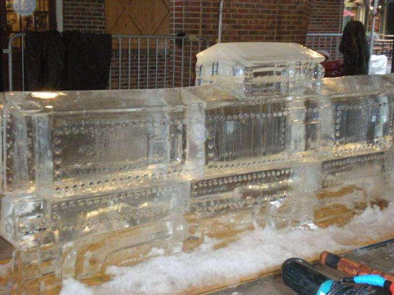 Ice Train Car