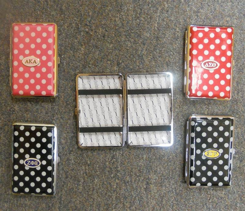Polka Dot Business Card Cases