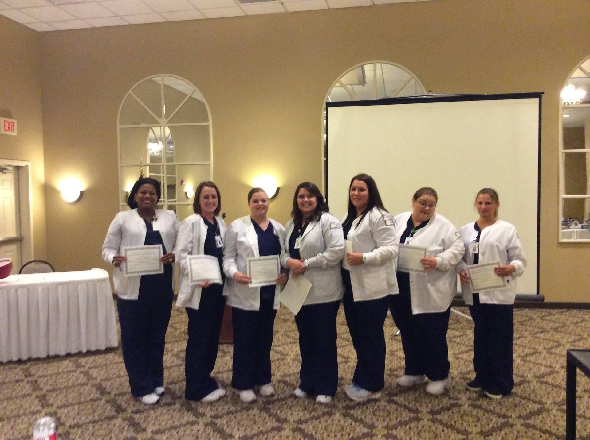 Merit Award recipients at 2014 annual convention