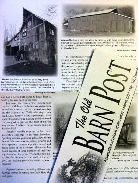 Historic Barn on site