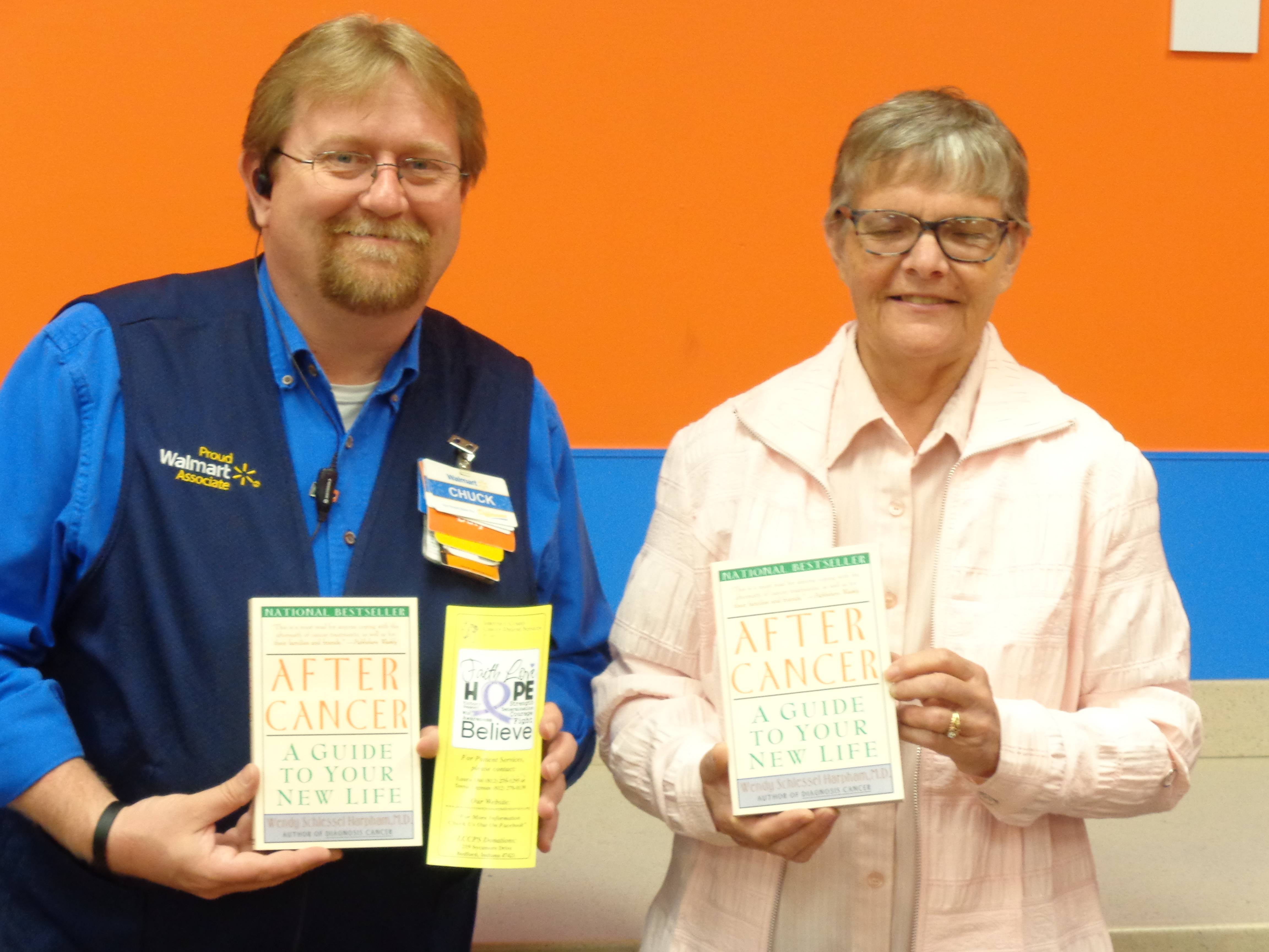 Walmart Grant for uplifting books.