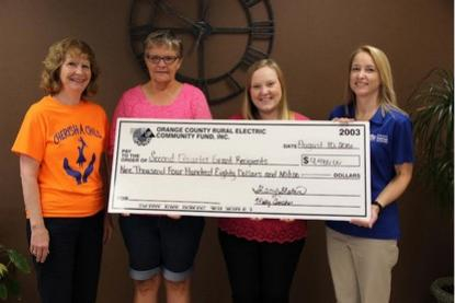 Funds from Orange County REMC Operation Roundup