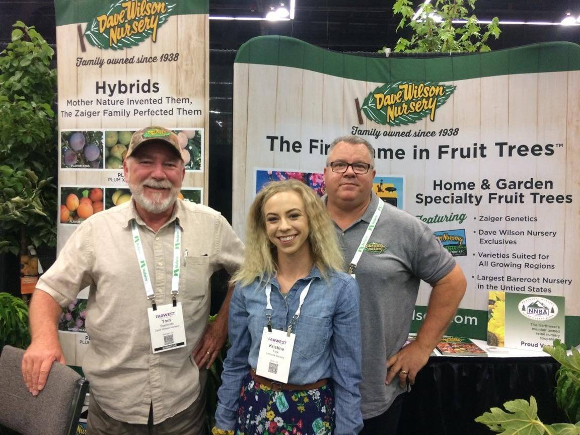 Oregon Trade Show with Dave Wilson Nursery