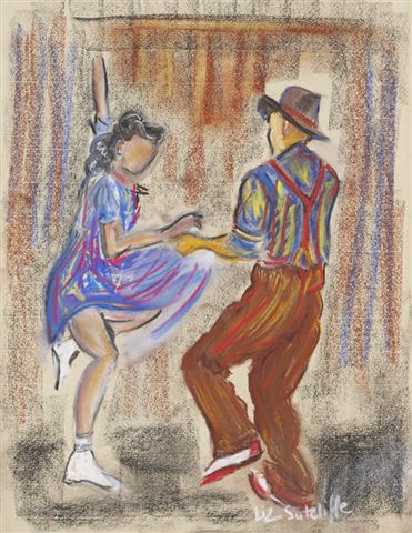 """Do you wanna Jive""  pastel"