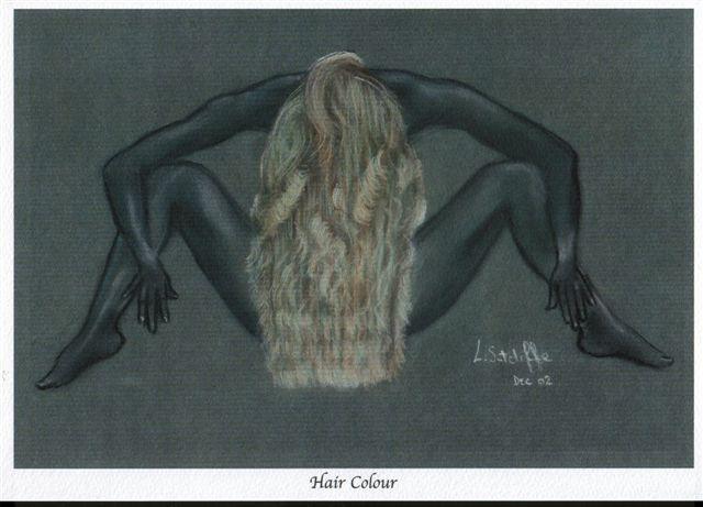 """Hair"" pastels"