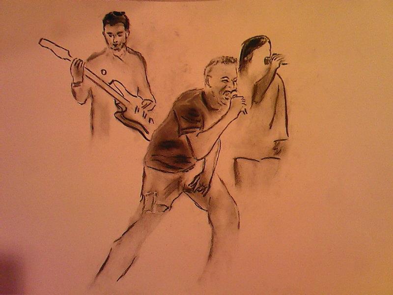 "Beginning of ""Darren's Band""........pastel"
