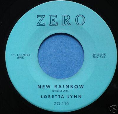 New Rainbow ZERO LABEL 1961