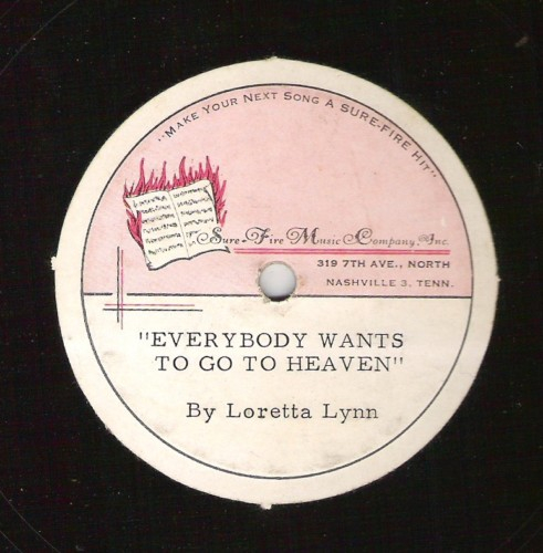 Rare Demo 45 Everybody want to go to Heaven