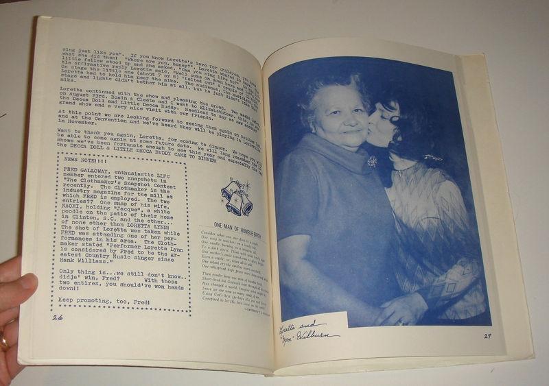 FCJ 1968 YEAR BOOK INSIDE MA WILBURN
