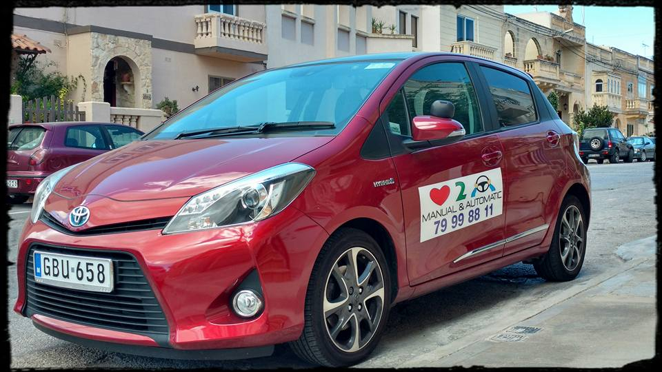 Toyota yaris hybrid electric/unleaded automatic transmission
