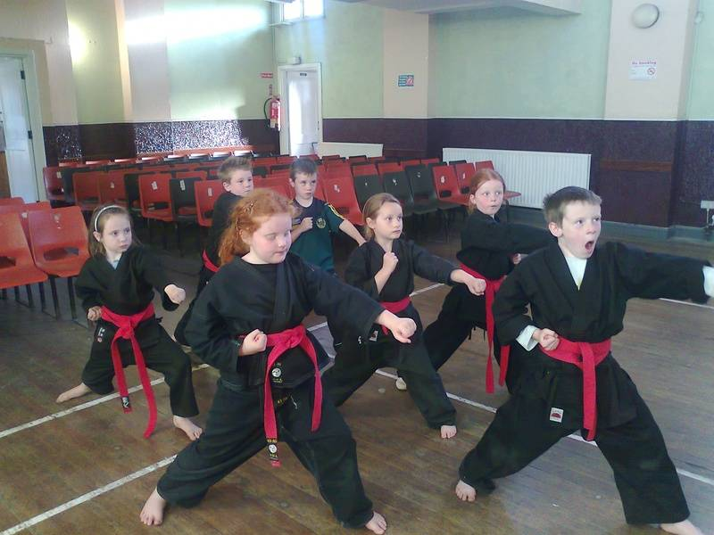 Junior Red belts