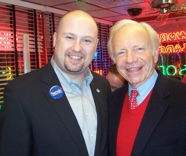 Kevin With Joe Lieberman