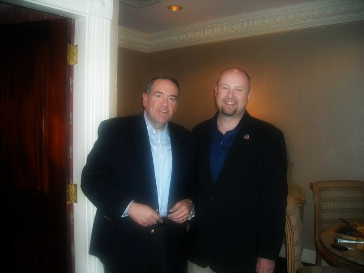 Kevin & Mike Huckabee
