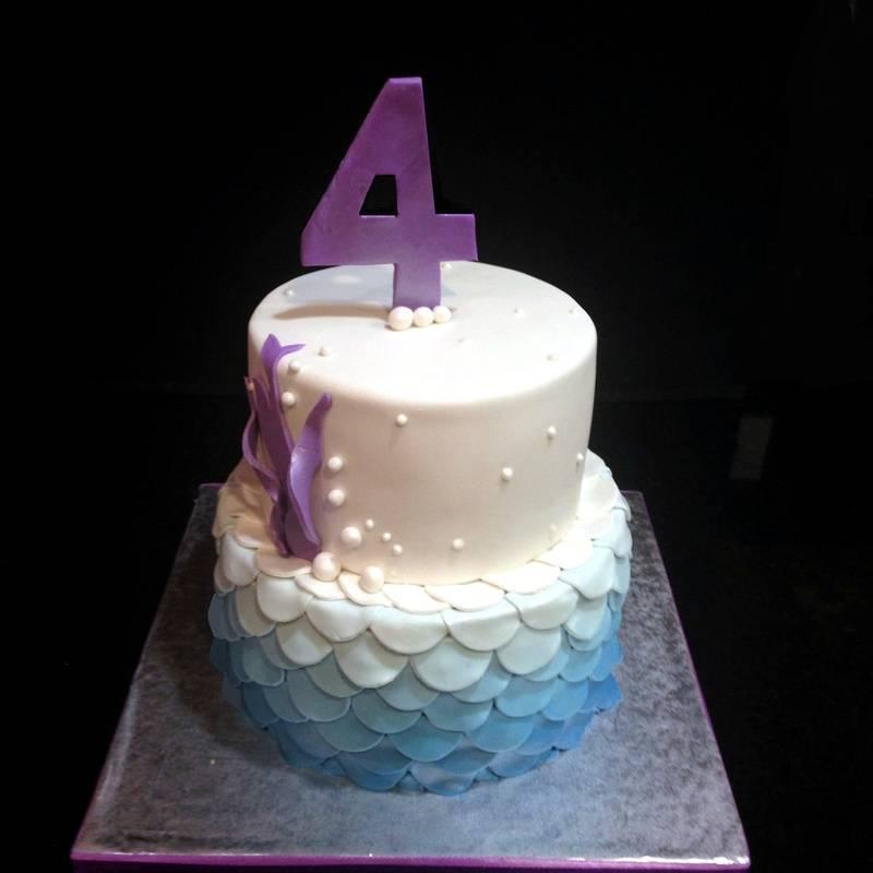 Ruffles bday Cake