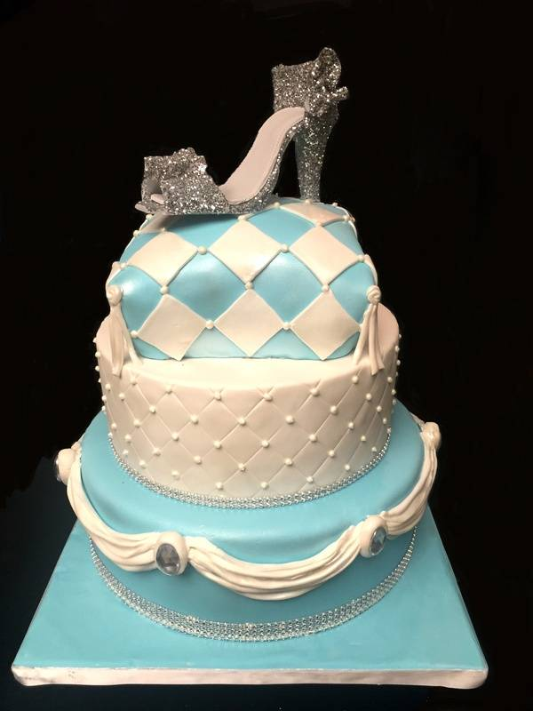 For a Cinderella themed quinceanera