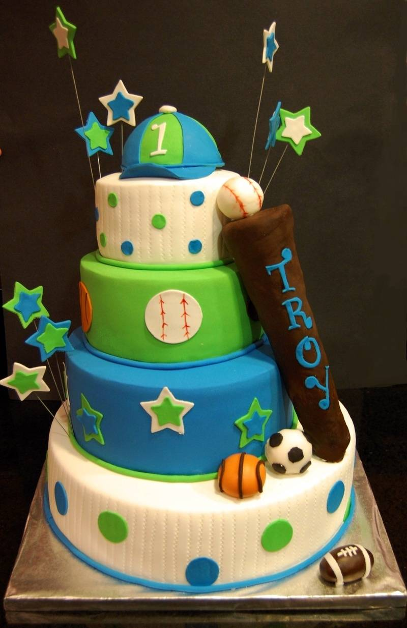 All Star sports themed Cake